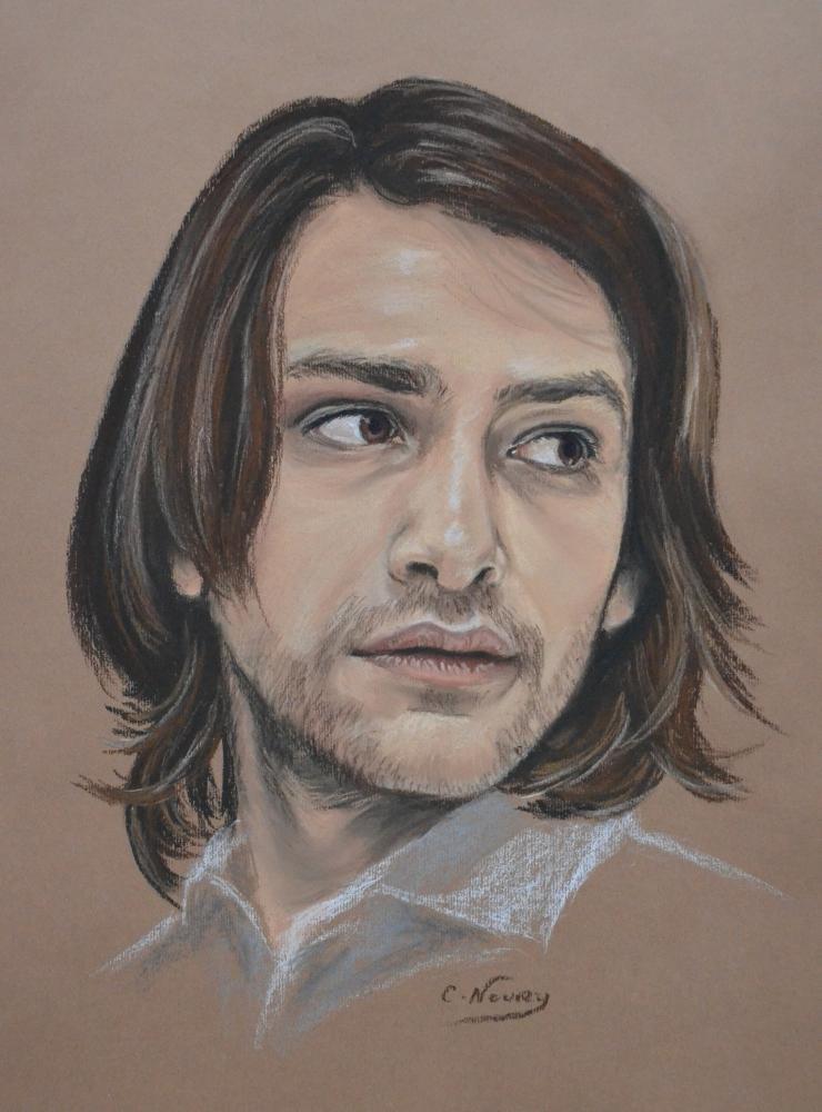 Luke Pasqualino por Andromaque